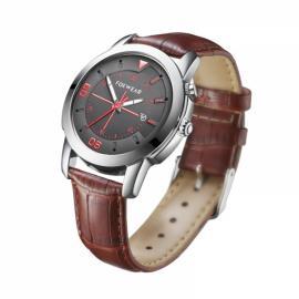 FOXWEAR Y22 Waterproof Bluetooth Smart Traditional Quartz Watch Silver