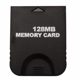 128MB Memory Card for Nintendo GameCube Black