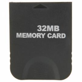 32MB Memory Card for Nintendo GameCube Black