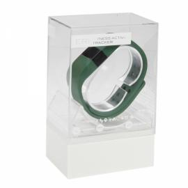 DiGiCare ERI LED Real Time Display Update Waterproof Bluetooth Wrist Watch Wireless Smart Bracelet Army Green