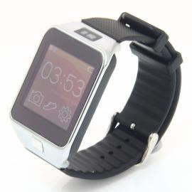 SV8 LCD Screen Fully Compatible Bluetooth V4.0 Smart Watch for Android / IOS Smartphone Silver