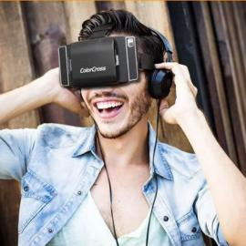 Lightweight Virtual Reality 3D VR Glasses for 4.7-6