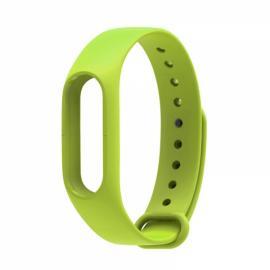 Smart Replacement Silicone Wrist Strap Wristband Bracelet for XIAOMI MI Band 2 Green