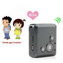 V16 Mini Personal Locator GPS Real Time Tracker SOS Communicator Black