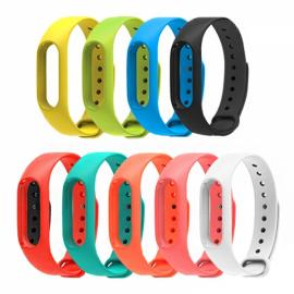 Smart Replacement Silicone Wrist Strap Wristband Bracelet for XIAOMI MI Band 2 Black