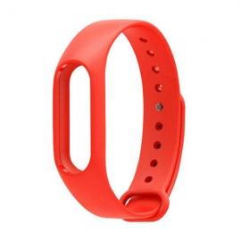 Smart Replacement Silicone Wrist Strap Wristband Bracelet for XIAOMI MI Band 2 Red