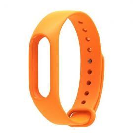 Smart Replacement Silicone Wrist Strap Wristband Bracelet for XIAOMI MI Band 2 Orange