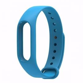 Smart Replacement Silicone Wrist Strap Wristband Bracelet for XIAOMI MI Band 2 Sky Blue