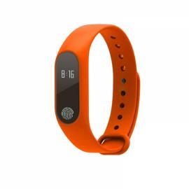 M2 Heart Rate Blood Pressure Health Monitoring Sport Smart Bracelet Orange
