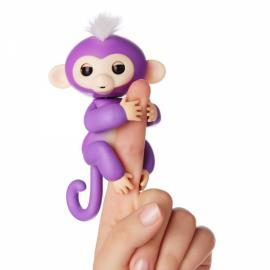 Fingerlings Interactive Baby Monkey Smart Colorful Induction Toys For Kids Gift - Purple