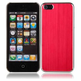 Ultra Slim Protective Aluminum Alloy Case Cover for iPhone 5 Red