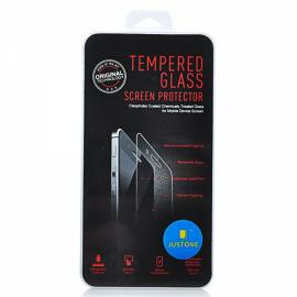 J088-1 Tempered Glass Screen + Back Protectors Set for iPhone 4/4S Transparent