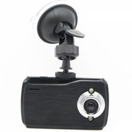 K7000 720P 2.7 inch 150-Degree Wide Angle Night Vision Car DVR Recorder Black