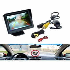 4.3 inch TFT LCD HD Digital Monitor Color Screen + Car Rear View Reversing Camera