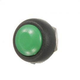 Car Auto Momentary OFF / ON Push Round Button Horn Switch Green