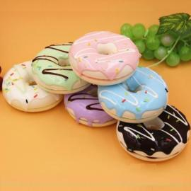 9CM Cute Chocolate Donut Cream Scented Simulation Food Bag Phone Strap Pendant Random Delivery