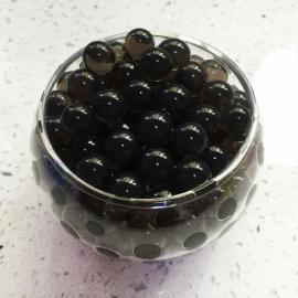 Magic Moisturizing Crystal Mud Soil Water Beads for Flower Planting (About 400pcs/Bag) Carbon Black