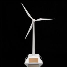 New Science Toy Desktop Model Solar Powered Windmills/Wind Turbine White