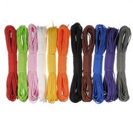 4mm Outdoor Practical Nylon Desert Parachute Cord Rope White (10m Length)