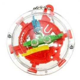 30-Level Mini 3D Magic Maze Ball Intellect Ball Puzzle 5.5x3.5cm Random Delivery