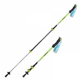 Naturehike 3 Section Trekking Pole Adjustable Folding Walking Stick Camping Aluminium Alpenstock Green