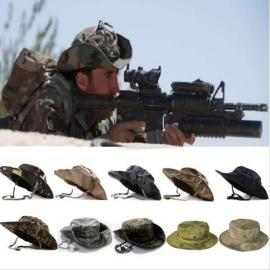 Tactical Combat Camo Hiking Fishing Cap Outdoor Army Sun Block Hat New Camouflage