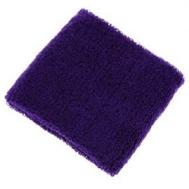 Aolikes Soft Breathable Sweat Absorbing Sports Wrist Support Band Purple