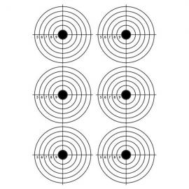 A4 Self-Adhesive Paper Target for Air Rifle Pistol Gun Shooting Archery Practice 28.5x21cm #09