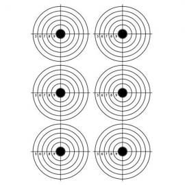 A3 Self-Adhesive Paper Target for Air Rifle Pistol Gun Shooting Archery Practice 28.5x42cm #09