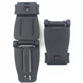 Molle Tactical Backpack Strap Webbing Connecting Buckle Clip Black
