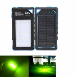Multifunction USB Charging Portable Power Camping Mosquito Lamp (Black+Blue)