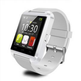 Original U-WATCH U8-PLUS Bluetooth Smart Watch (Support iOS & Android) White