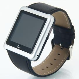 U10 Bluetooth Smart Wrist Watch Phone Mate for IOS Android Phone Silver