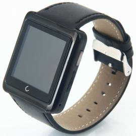 U10 Bluetooth Smart Wrist Watch Phone Mate for IOS Android Phone Black
