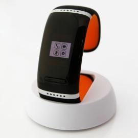 L12S OLED Bluetooth V3.0 Stylish Touch Screen Smart Bracelet Orange & Black