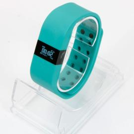 Digicare ERI LED Real Time Display Update Waterproof Bluetooth Wrist Watch Wireless Smart Bracelet Mint Green