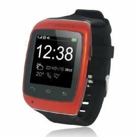 S12 New Stylish Anti-lost Touch Screen Bluetooth Smart Watch Red