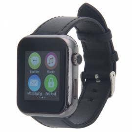 Atongm AW08 Touch Screen Bluetooth Smart Watch Black