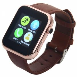 Atongm AW08 Touch Screen Bluetooth Smart Watch Brown
