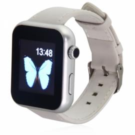 Atongm AW08 Touch Screen Bluetooth Smart Watch White
