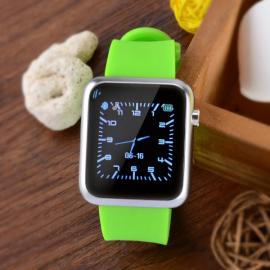 Atongm W009 Intelligent Android & IOS 4-Mode Bluetooth Silicone Wristband Watch with Calendar Display Green