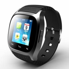 RWATCH M26S Wearables Smart Watch,Activity Tracker/Sleep Tracker/Alarm Clock for Android/iOS/Windows Mobile Black