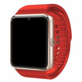 GT08 SIM Card GSM GPRS Bluetooth Smart Watch for iOS & Android Cellphone Red