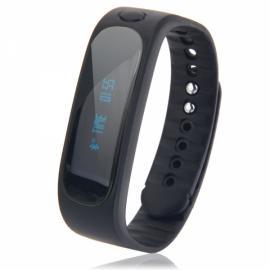 E02 Deep Waterproof Bluetooth 4.0 Smart Wrist Band Bracelet for Android & iOS Phone Black