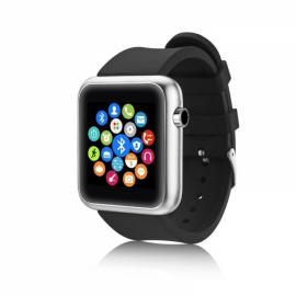 S68 Bluetooth Smart Watch for Android & iOS Phone Black
