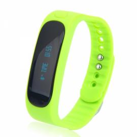 E02 Deep Waterproof Bluetooth 4.0 Smart Wrist Band Bracelet for Android & iOS Phone Green