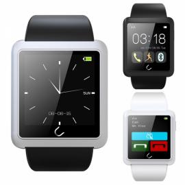 U10L U Watch Waterproof Anti-lost Bluetooth Smart Watch for iPhone & Android Phone Silver