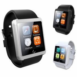 U10L U Watch Waterproof Anti-lost Bluetooth Smart Watch for iPhone & Android Phone White