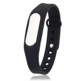 Bluetooth Smart Fitness Wrist Band Bracelet for Android & iOS Phone Black