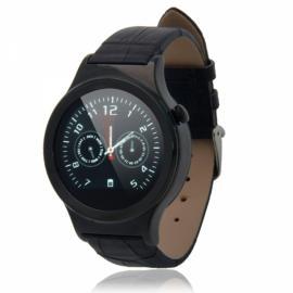 T3 Sleek Round Dial Nano Tempered Glass Screen Bluetooth Smart Watch Black